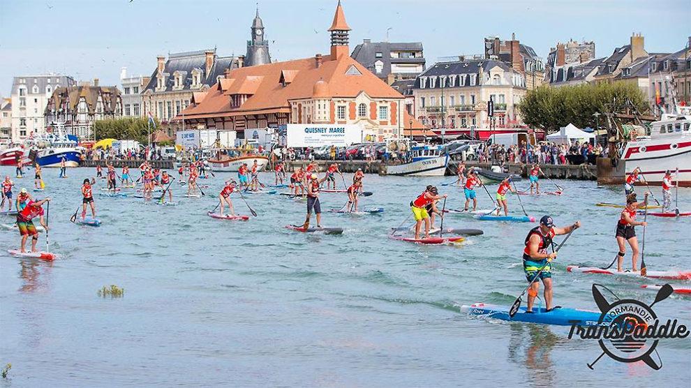 Sup Race Normandie Transpaddle Trouville-sur-Mer 2019