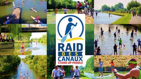 Course stand up paddle Le Raid des Canaux
