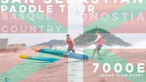 Euro Tour Sup San Sebastian Paddle Tour