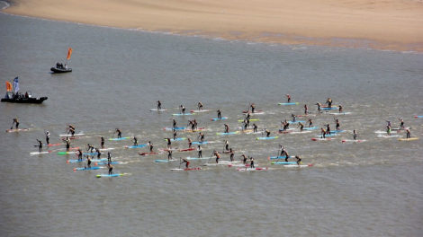 Evénement et course de stand up paddle Vendée Gliss Event 2019