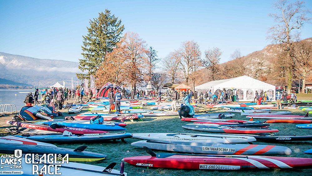 Retour sur la GlaGla race 2019 épreuve de l'Alpine Lakes Tour