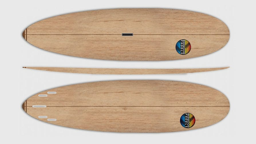 Stand up paddle Spoon Paulownia