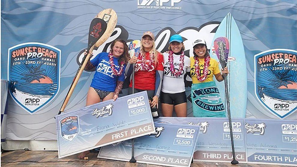 Poenaiki Raioha et Fiona Wylde vainqueurs du Sunset Beach Pro 2019
