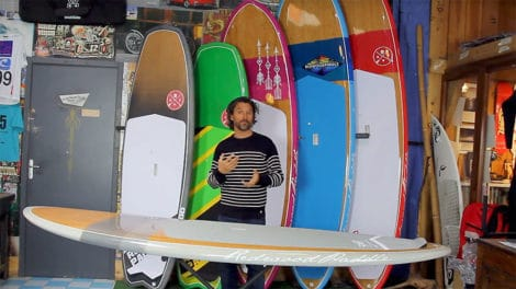 Stand up paddle ballade surf Phénix Ltd de RedwoodPaddle