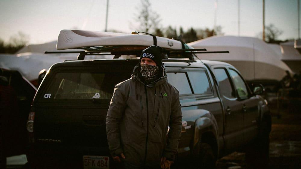 Vidéo Sup de Willis Brown dans le froid de la Nouvelle-Angleterre