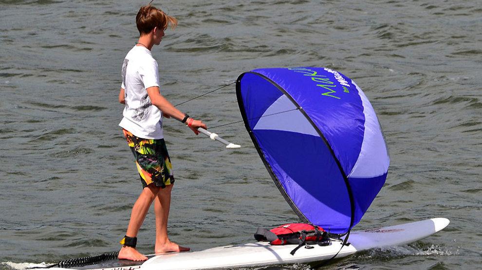 Une voile pour vos déplacements en stand up paddle