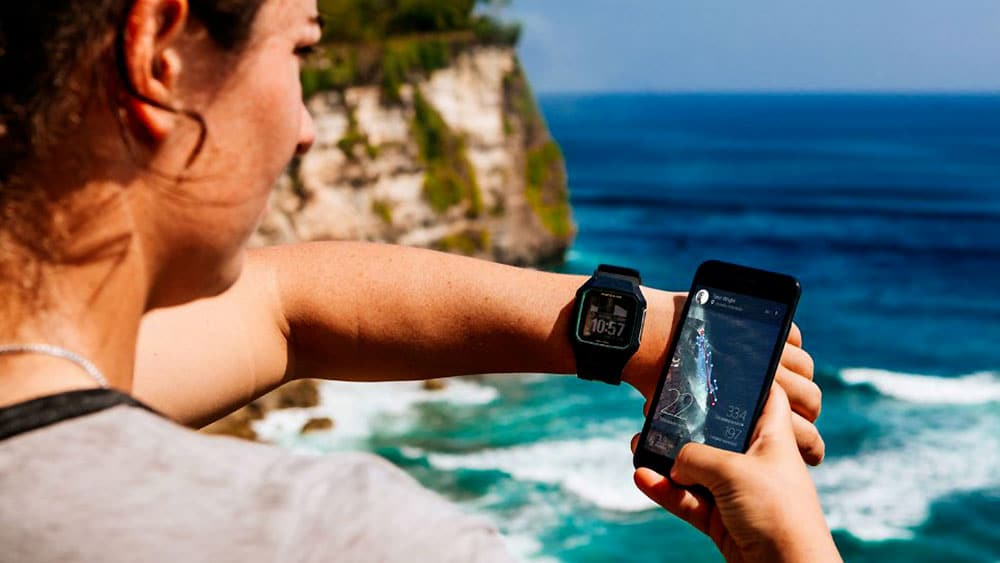 La montre pour le Sup Surf Rip Curl Search GPS Series 2