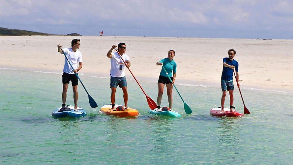 Stand up paddle gonflable randonnée et débutants 11' Itiwit