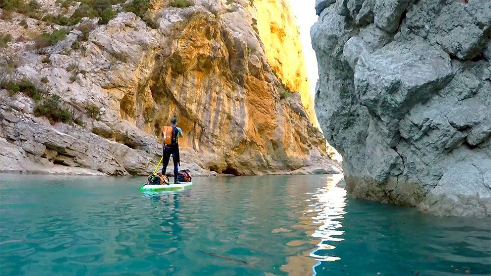Sup trip dans les Gorges du Verdon et le Lac de Sainte-Croix