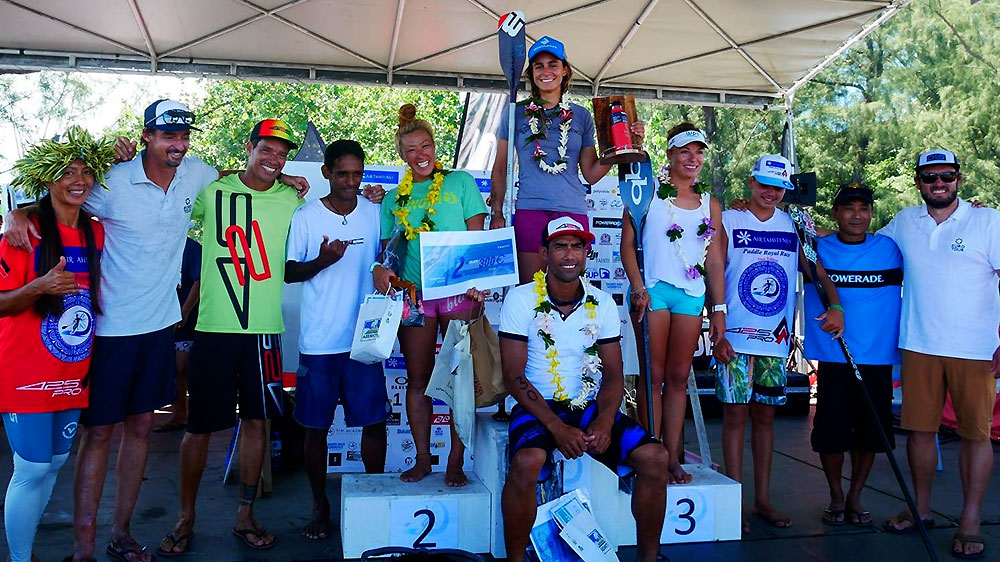 Olivia Piana et Georges Cronsteadt remportent l'ATN Paddle Race