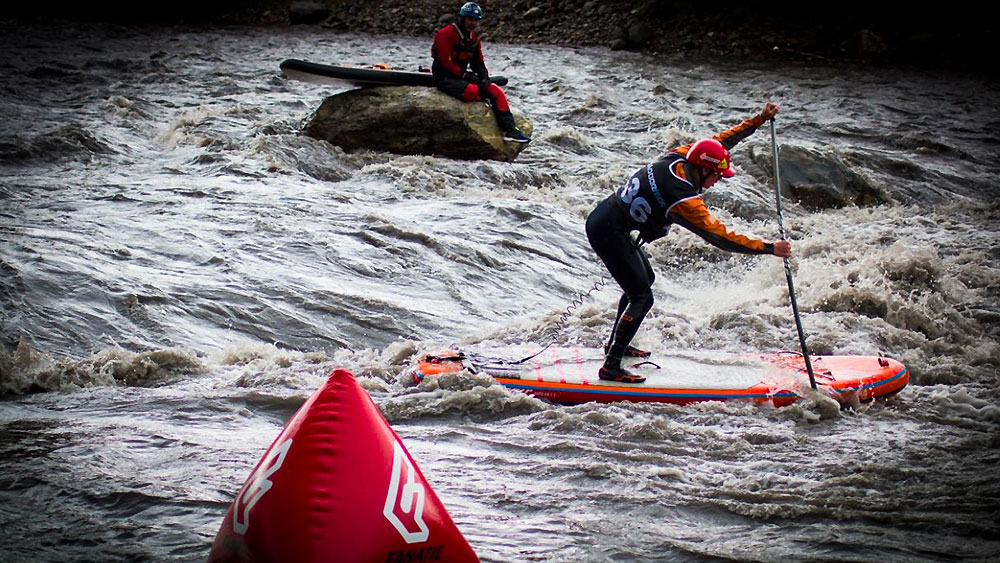 Outdoormix Spring Festival stand up paddle riviere