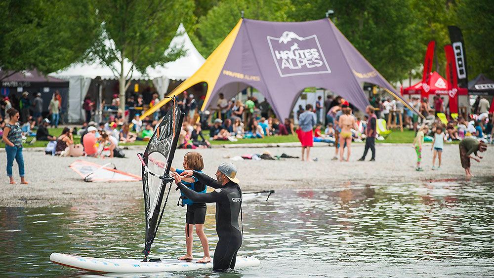 Outdoormix Spring Festival planche a voile