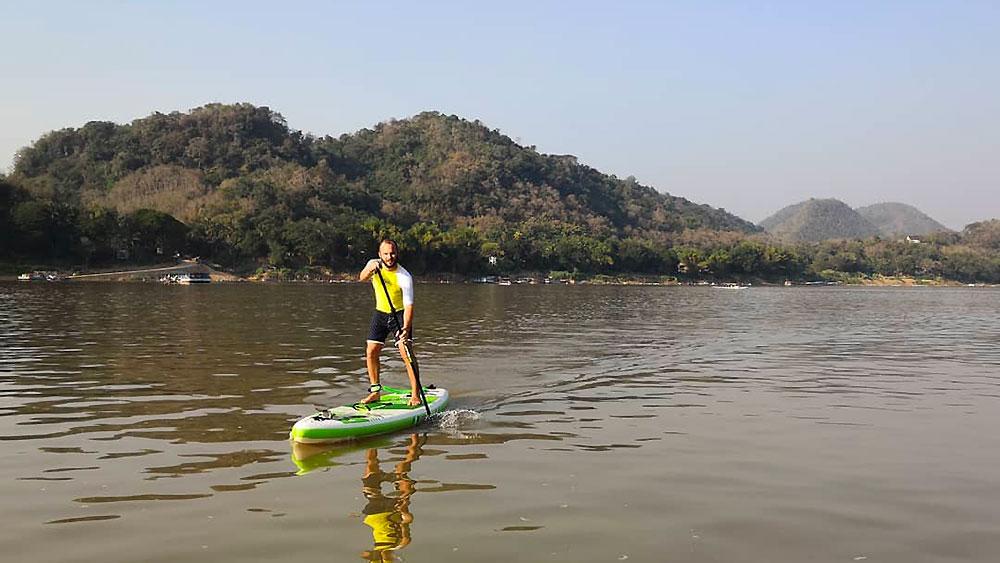 Portrait de notre Sup Addict Pierre, voyageur en stand up paddle