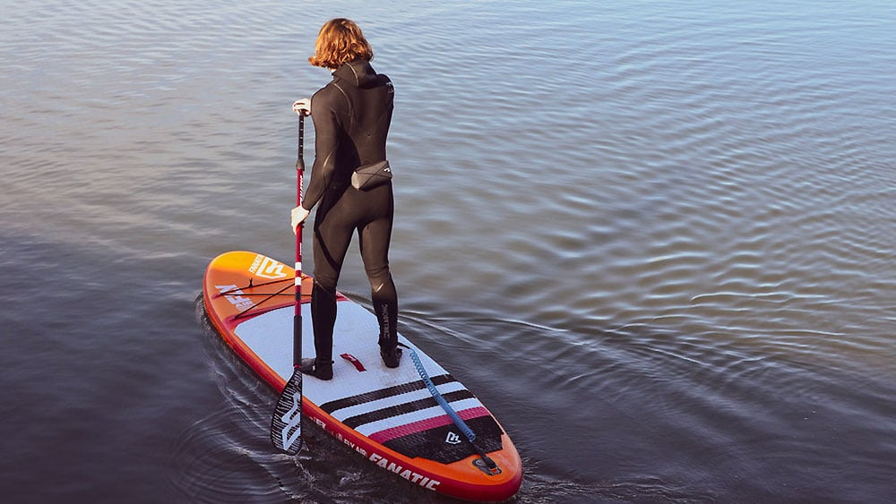 Aide à la flottaison en stand up paddle