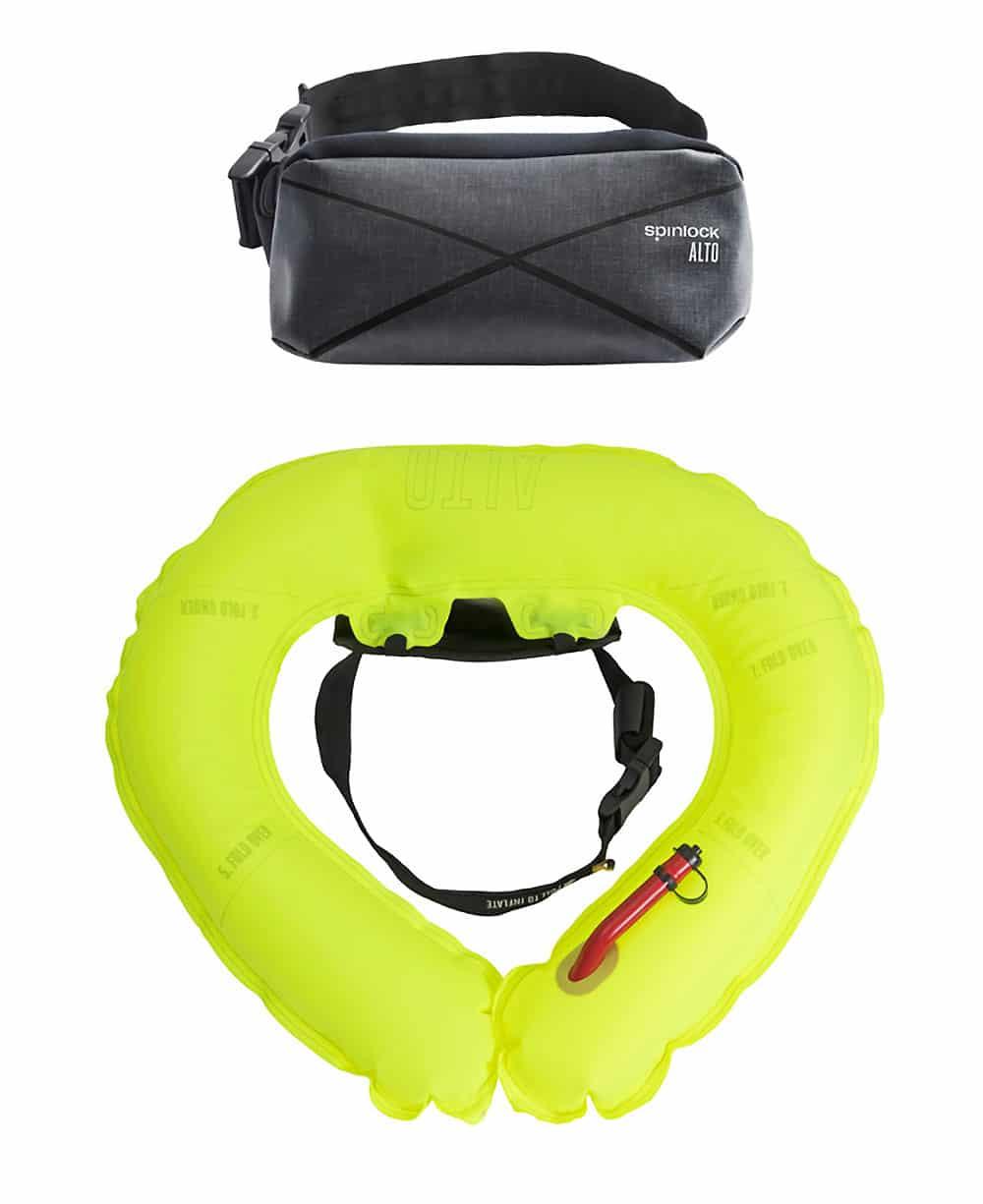 Aide à la flottabilité gonflée