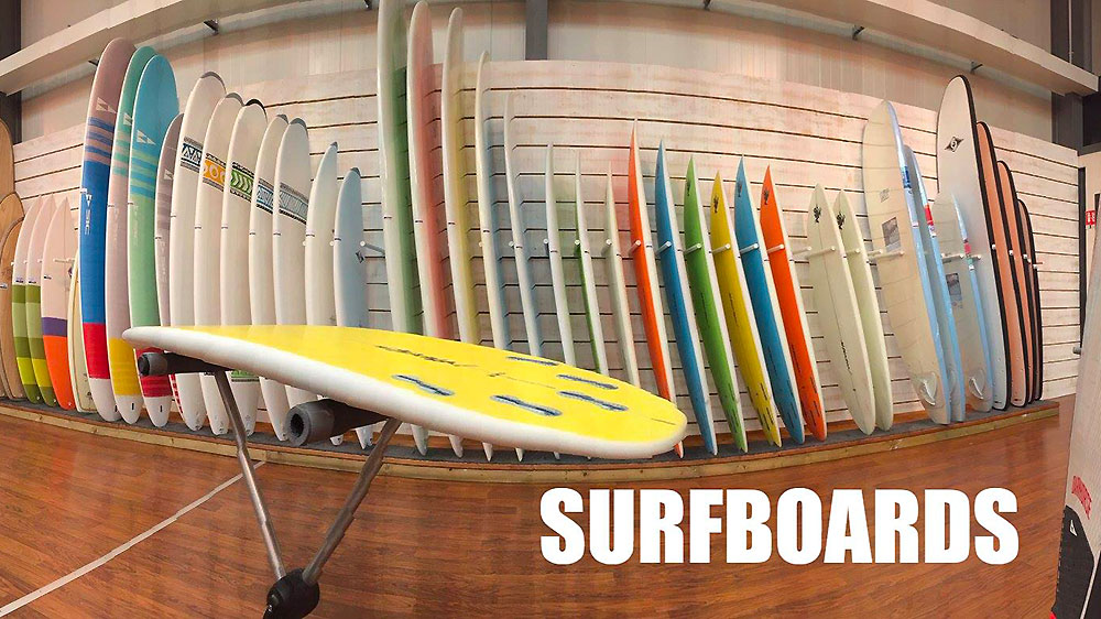 Surfboard au Tahe Outdoors Bic Sport store