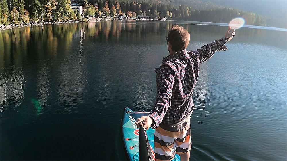 "Vidéo stand up paddle gonflable Sroka Compagny Alpha 12'6x28"""