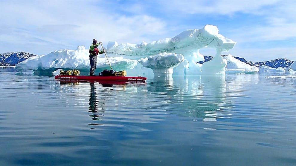 Vidéos Sup Paddle Groenland avec Ingrid Ulrich