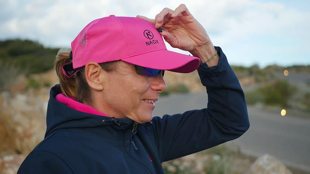 Valérie Vitry et sa casquette Naox