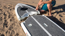 Easy Eddy modular paddle board ou stand up paddle démontable