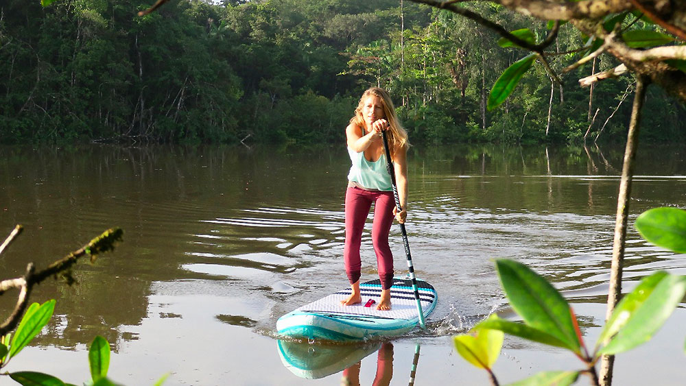 Retraite Sup Yoga au Costa Rica en janvier avec Sarah Hebert