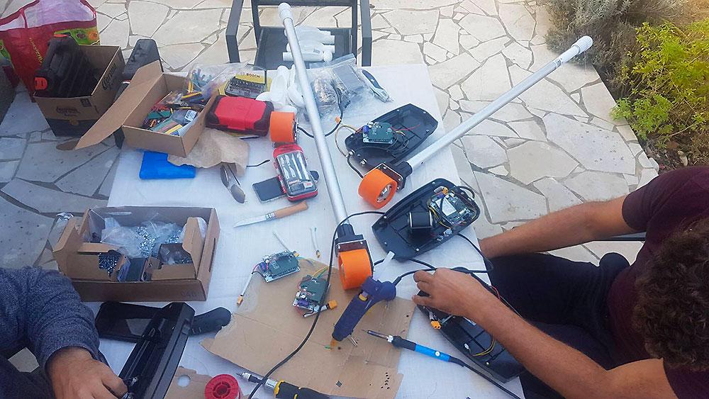 Stick urbain électrique électronique