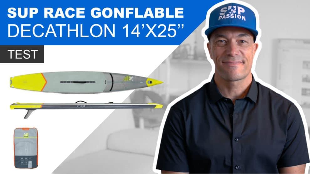 Stand up paddle Itiwit gonflable de course 14x25, notre vidéo test