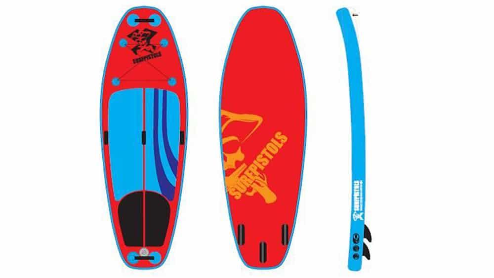 Isup White Water, le nouveau Supsurf de Surfpistols