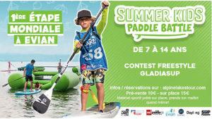 The Summer Kids Paddle Battle, 1ère étape mondiale à Evian !