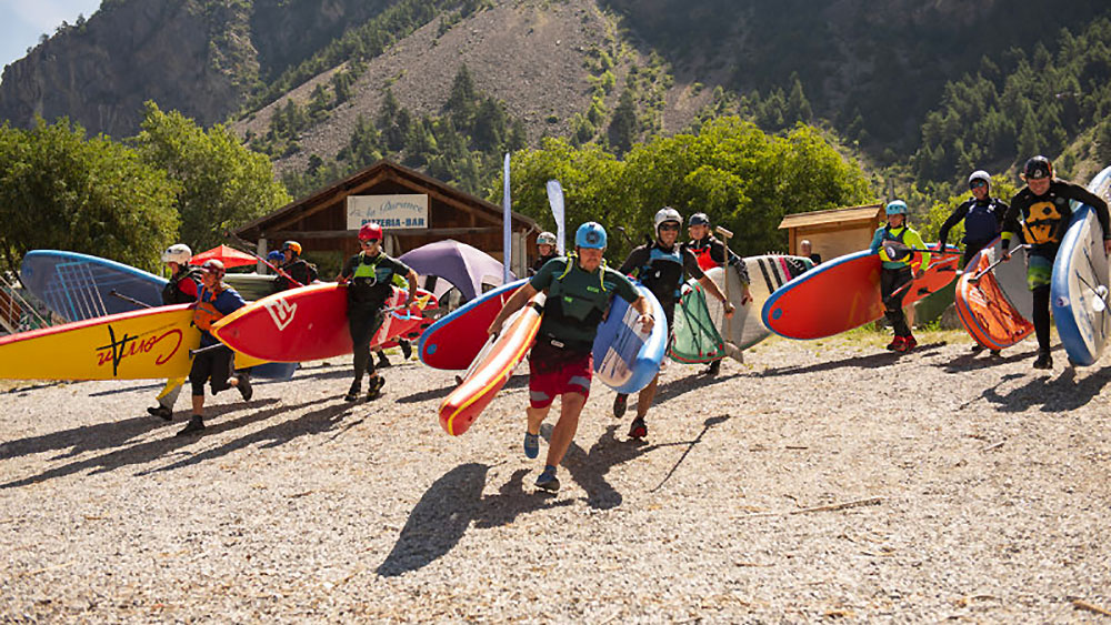 Durance Festival 2019, compétition de stand up paddle