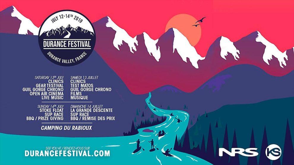 Durance Festival 2019, compétition de stand up paddle