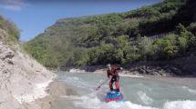 Isup White Water, le Supsurf rivière de Surfpistols