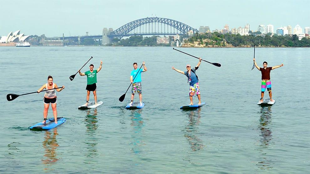 Sup, les villes où pratiquer le stand up paddle