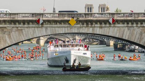 Vidéo Mille SNSM Paddle Trophy, stand up paddle au coeur de Paris