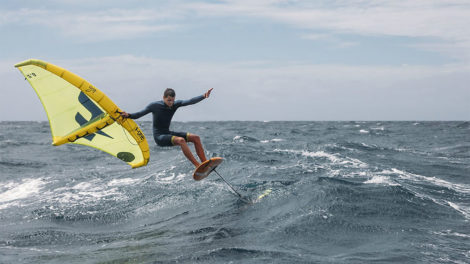 Wing Surf Swing la nouvelle aile de F-One