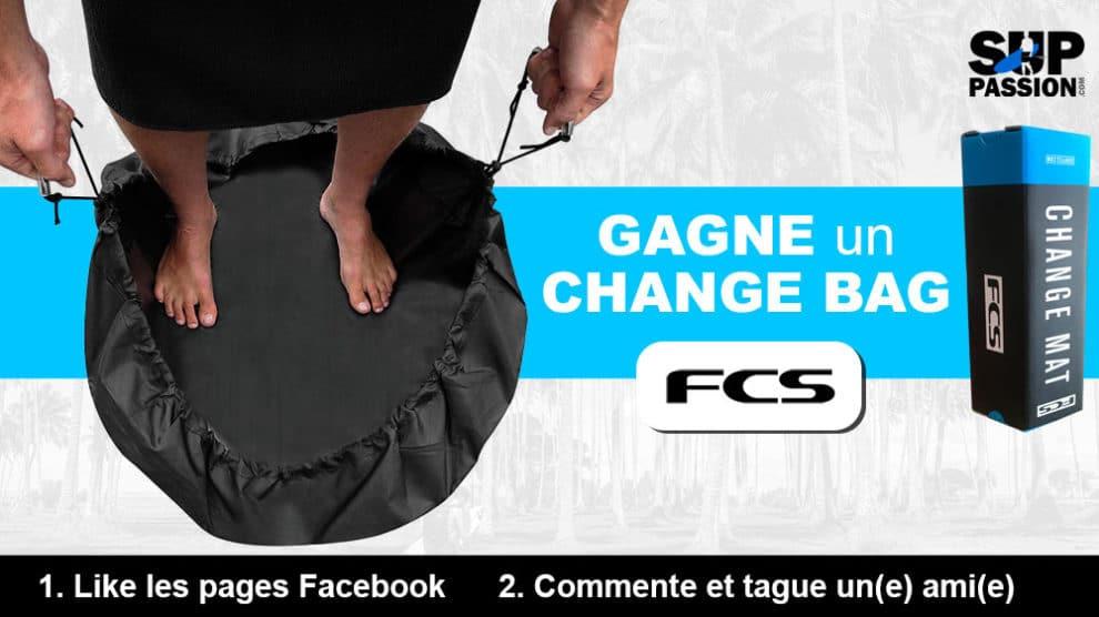 Gagnez un Change Mat Wet Bag de la marque FCS