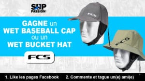 Gagnez un Wet Baseball Cap ou un Wet Bucket Hat FCS