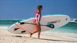 """Stand up paddle gonflable Fool Moon Lagoon 10'6"""""""