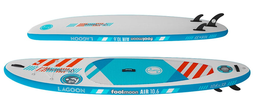 Stand up paddle gonflable Fool Moon Lagoon 10'6""