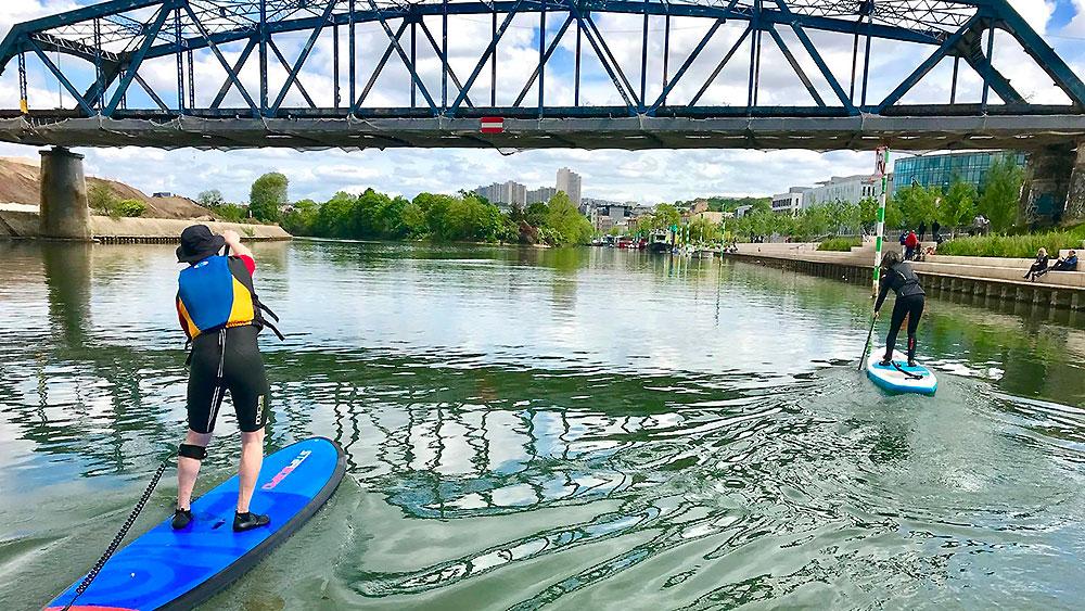 Où faire du stand up paddle à Paris ?