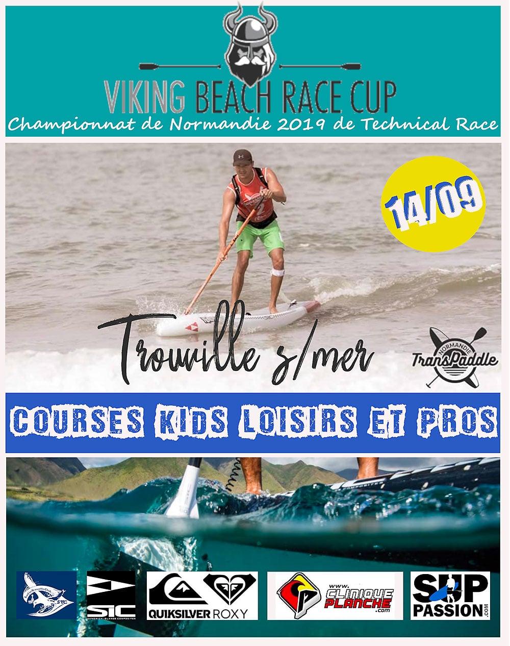 Sup Race Transpaddle Trouville les 14 et 15 Septembre 2019