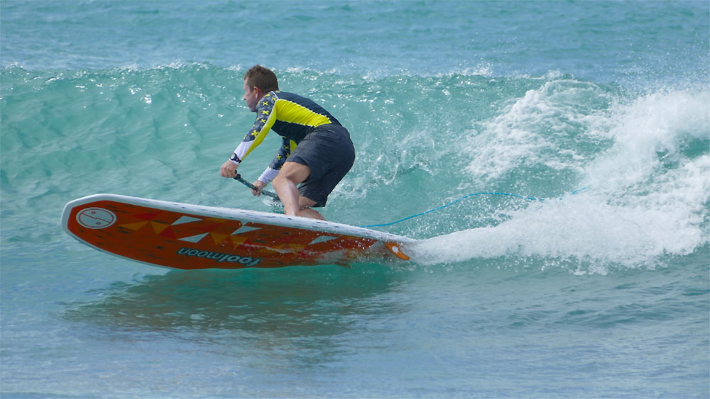 Le stand up paddle surf Sushi Pop de Fool Moon