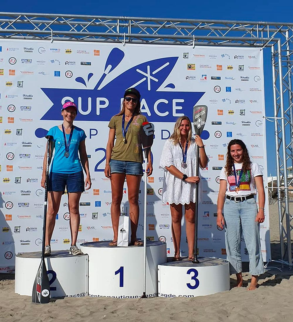 Retour sur les championnats de France de stand up paddle 2019