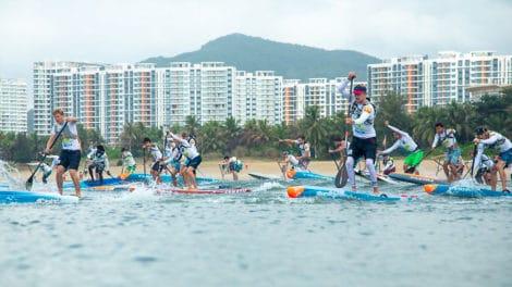 Mondiaux stand up paddle fin novembre au Salvador