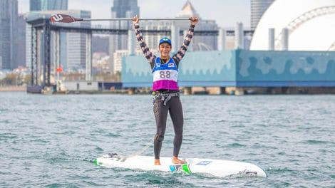 Olivia Piana championne du monde en Chine