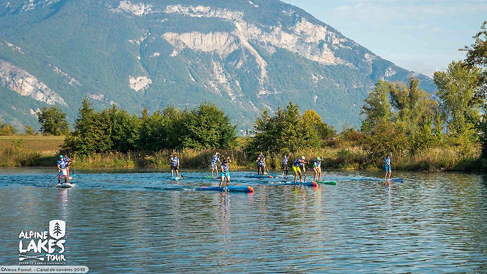 Résultats Alpine Lakes Tour Canal de Savières et lac du Bourget