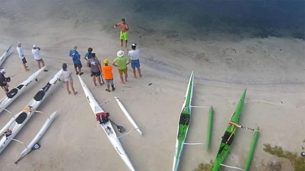 Woo Outrigger stage Guadeloupe de pirogue