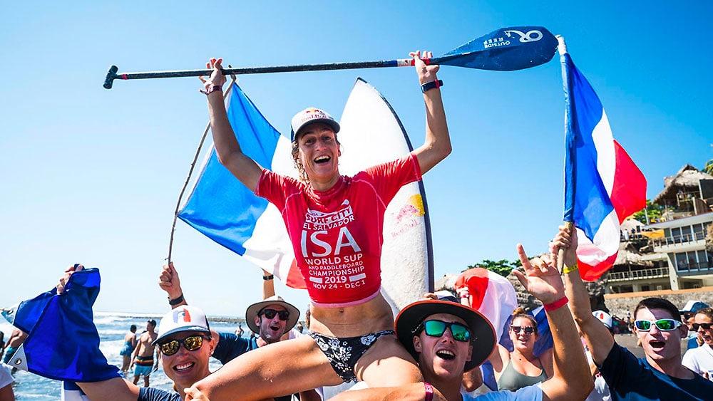 La France championne du monde stand up paddle