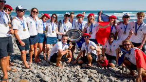 La France championne du monde stand up paddle