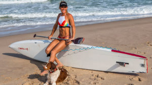How to paddle your Sup in a straight line